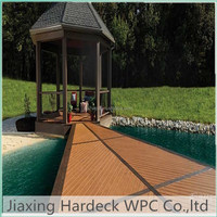 wood plastic composite flooring wpc decking solid