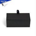 Business Shirt Cufflinks Box Gift Storage Case Birthday Gift Black