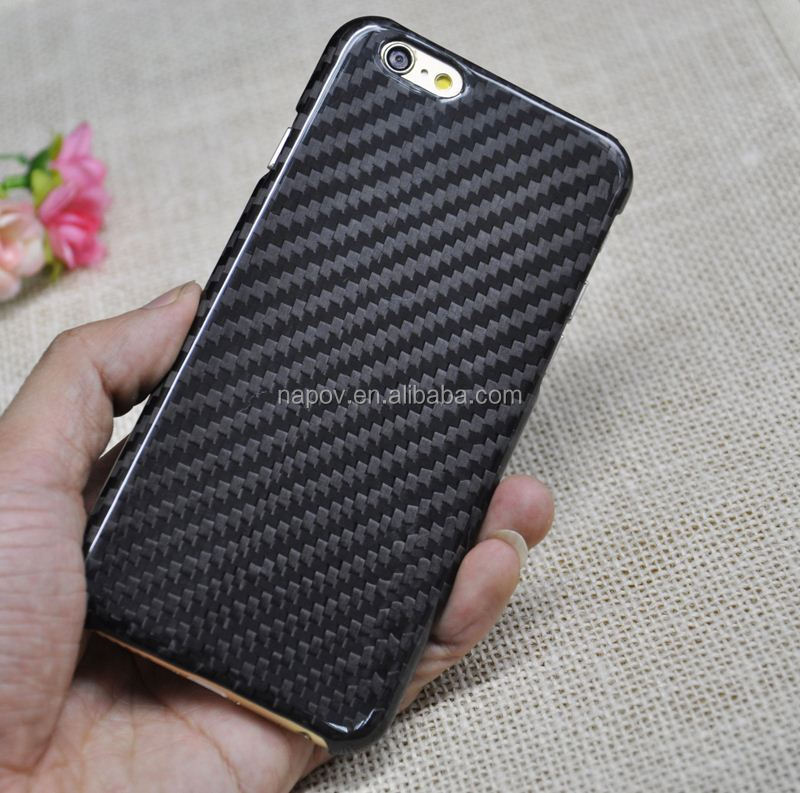 100% Full All Real Genuine Carbon Fiber Case Cover Shell for iPhone 6 4.7""
