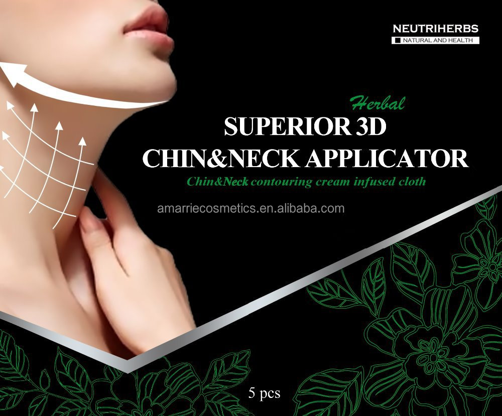New products on China market superior3D chin&neck applicator remove double neck quickly neck wammer for fat people