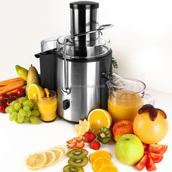 2015 hot selling 75mm whole apple Power juicer from Konlet and Pulp container: 2 L