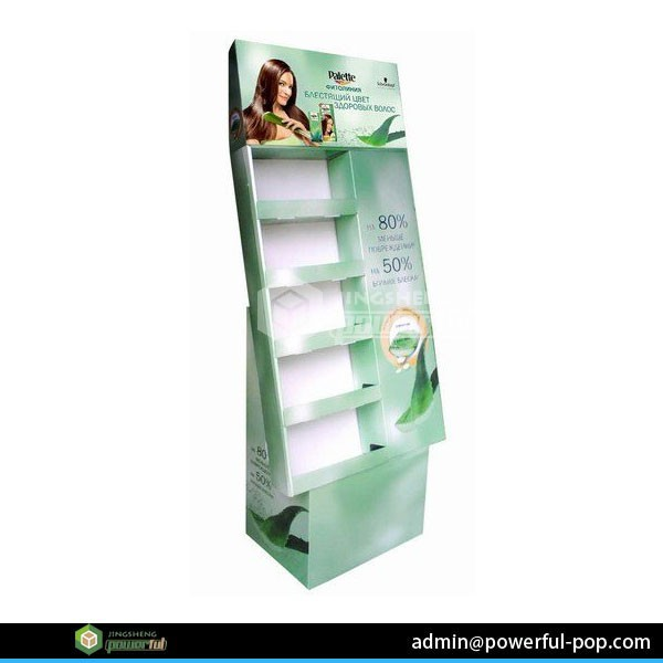 7 tier fruit and vegetable cardboard pos display stand