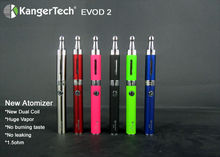 Alibaba italian Kangertech EVOD 2 Starter kit and Clearomizer Kanger EVOD 2 reusable electronic cigarette