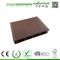 High Quality WPC Wood Plastic Composite Decking , Composite Decking Price