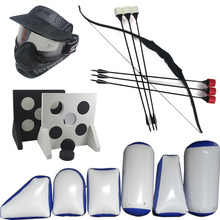 archery kit set tag equipment recurve bow and foam tip arrow