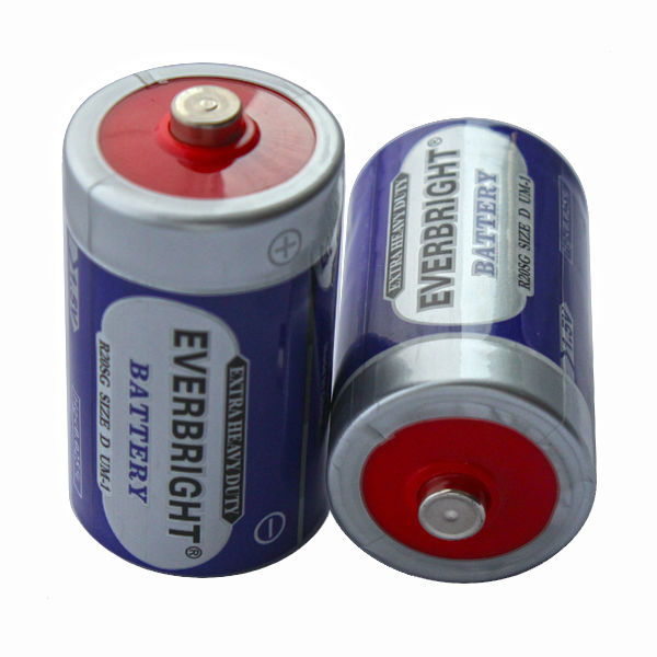 Good Perfornance 1.5v D UM-1 R20 Shaver/water Heater/Model Racing Cars Batteries For Torch/Gas Stove
