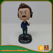 Resin custom made cartoon character bobble head
