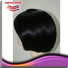 Human Hair Short Lace Front Wig