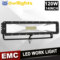 4X4 offroad car accessories auto parts 12v led lights 120w led light bar 120w led driving light for truck jeep SUV ATV