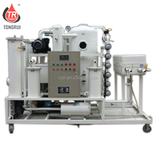ZJD Vacuum Hydraulic oil automation filtration system purify Oil Treatment Plant