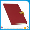 note book with button lock, note book with magnetic closure