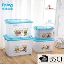 high quality transparency plastic heavy-duty plastic storage box