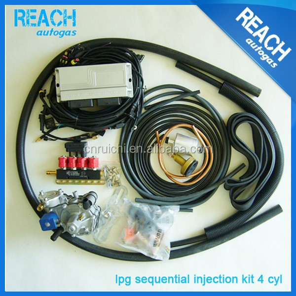 OEM ac300 conversion kit lpg gas kit for cars