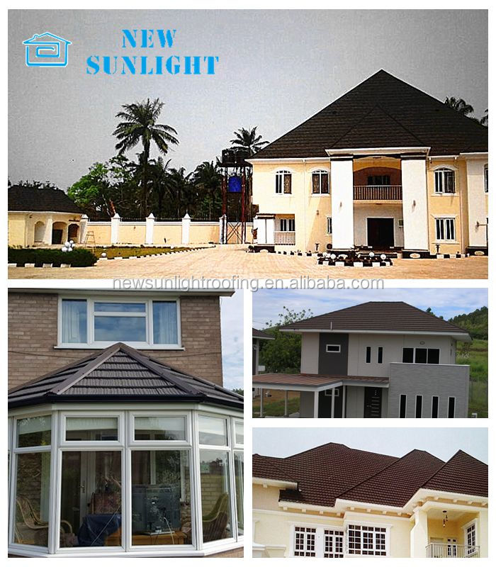 best selling products stone coated metal type of roof sheets price per sheet
