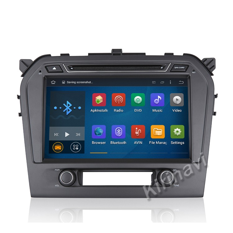 Kirinavi android 5.1 car radio gps for suzuki grand vitara 2015+ car dvd mp3 player wifi 3g bluetooth car stereo