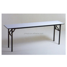 White PVC Restaurant folding banquet dining table (GT602)