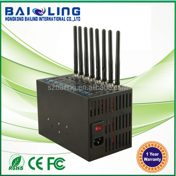 Hot Sale Bailing bulk sms device GSM/GPRS 4G LTE 8 port Modem Pool