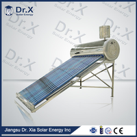 Evacuated Tube Compact Non-pressurized solar water heater, evacuated solar collector tubes, vacuum tube audio amplifier