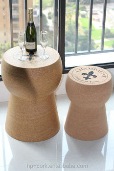 New arrival Champagne cork side table