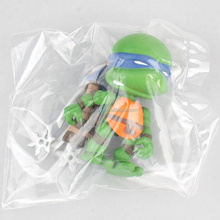 Teenage Mutant Ninja Turtles Leonardo/Raphael/Michelangelo/Donatello No box 8cm cute toy action figure