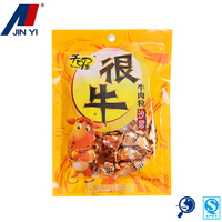 laminated dried beef flexible plastic food packaging bags