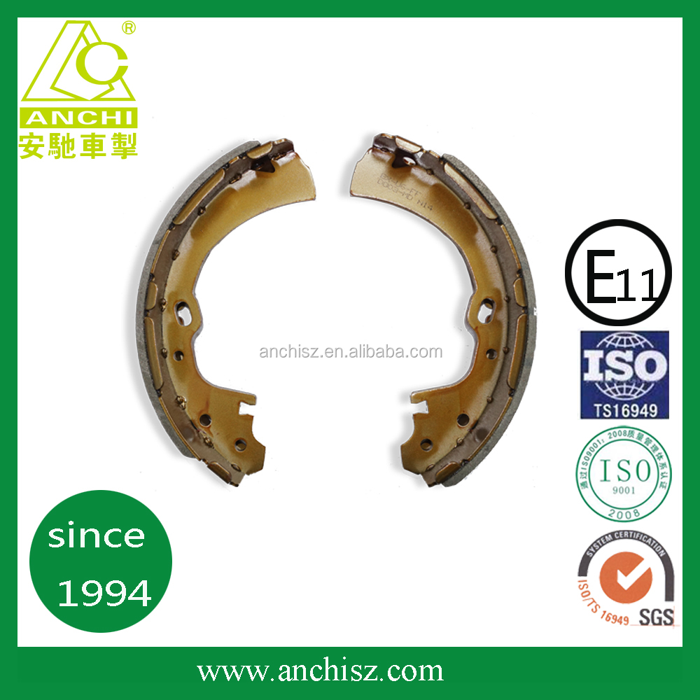 manufacture Chevrolet N300 N200 parts 24545659 auto brake shoe cars