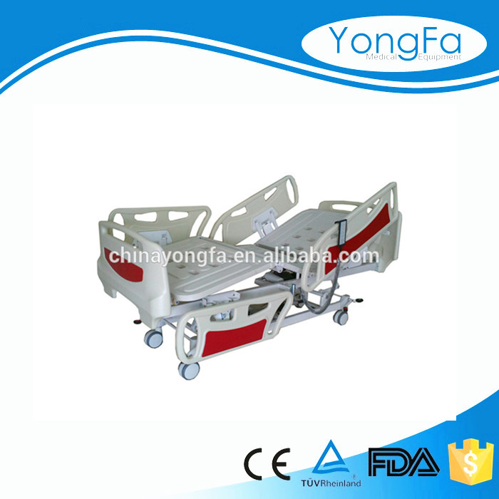 YFD CE, ISO, FDA Five Function Electric Hospital Beds For Sale!
