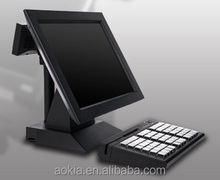 AK-516T Touch Screen POS Machine Point of Sales System Restaurant bill payment machine with software in multi-language