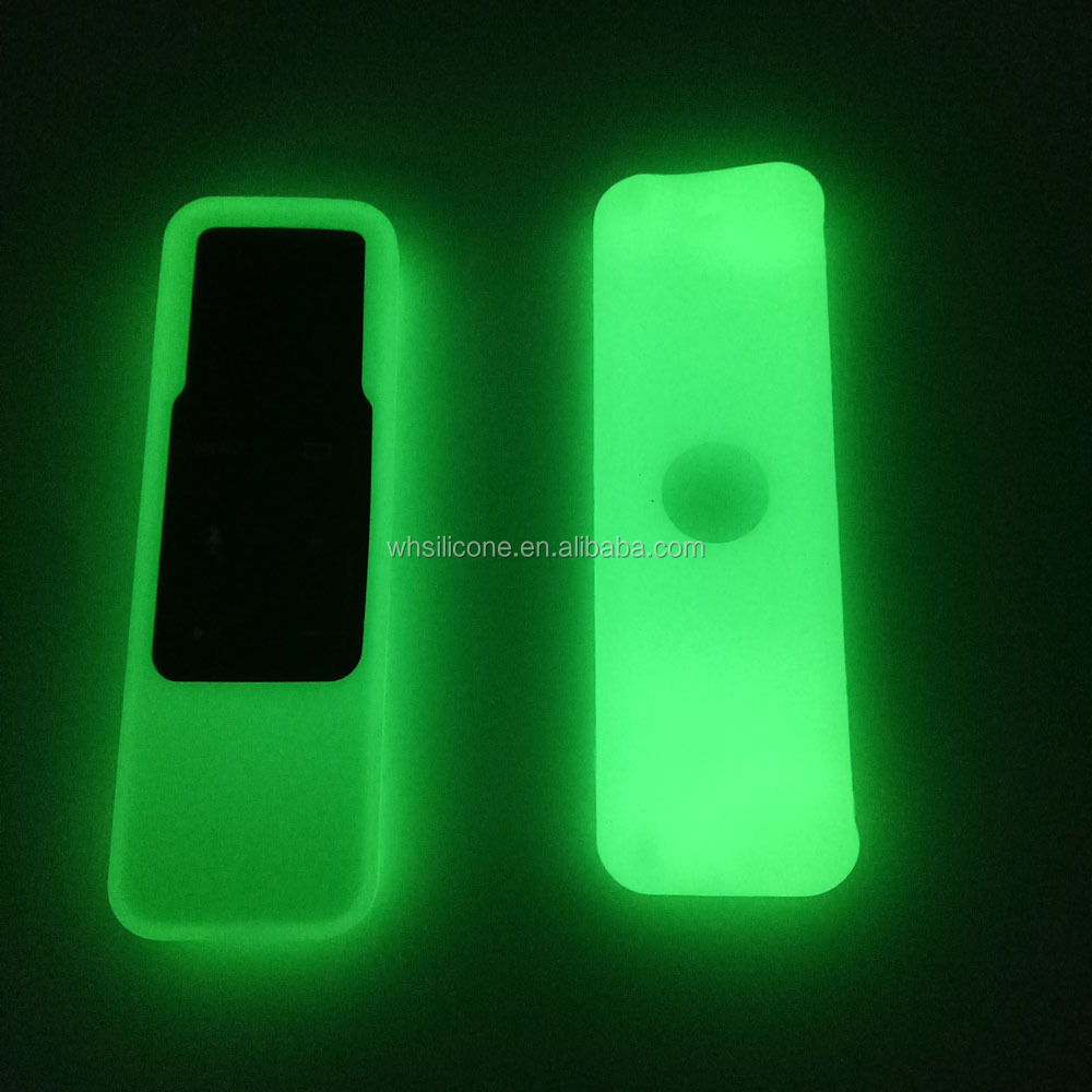 Amazon Hot Sell Luminous Silicone TV Remote Control Protective Cover Case For Apple TV