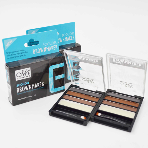 Menow E16001 Cosmetic 4 colors waterproof eyebrow powder