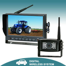 7 inches 2.4 GHz digital wireless reverse camera system (monitor and camera) for vehicle