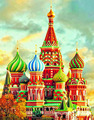 The Russian Castle diamond painting,5d diy diamond painting cross stitch,diy diamond painting kit