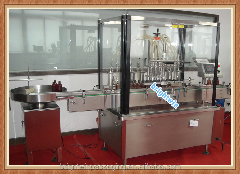 factory price automatic medicine liquid /oral liquid/syrup filling machine