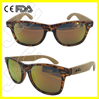 2016 custom cheap pc sunglasses in PC frame with logo lens free