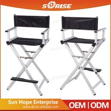 Aluminum Portable Hairdressing Portable Chair For Makeup Artist