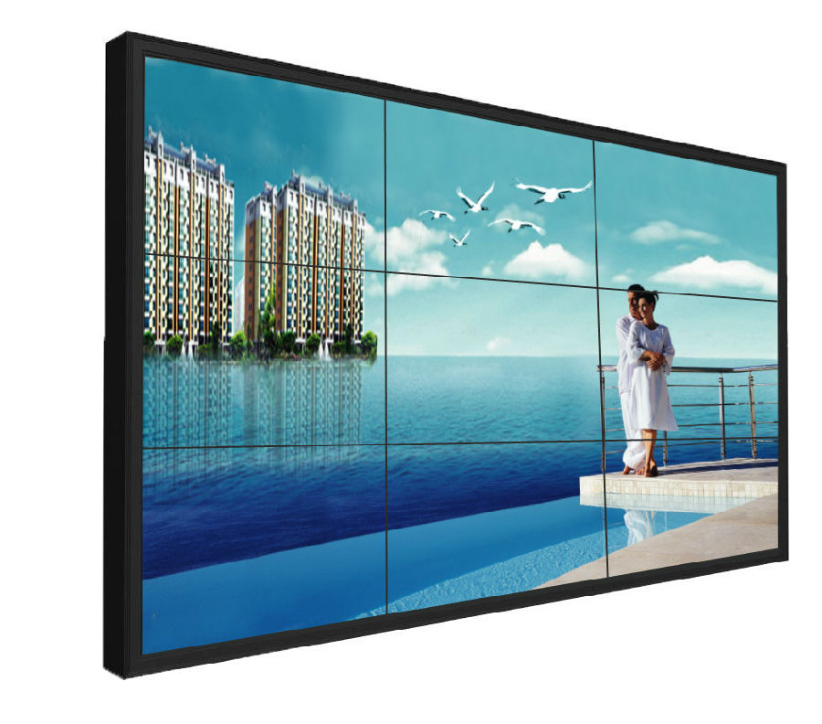 tv live broadcast curved video wall