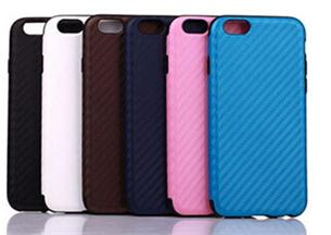 For iPhone 6 6s Luxury Carbon Fiber Back Phone Cases, 4.7 inch carbon fiber pu leater cover for iPhone 6 6s Case