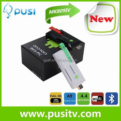 New Arrival Mk809Iv Quad-Core Android 4.2 Mini Tv Dongle Quad-Core Android 4.2 Mini Tv Dongle Mini Pc Dongle Wifi From Pusi