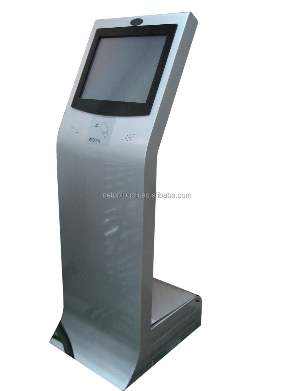 LCD monitor touchscreen kiosk for hotel