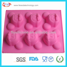 Mickey Mouse 6 Caves Custom Silicone Ice Tray For DIY
