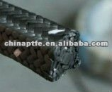 PTFE graphite packing with oil