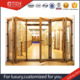 Latest Main Gate Design Aluminium wooden Folding Doors from China Supplier