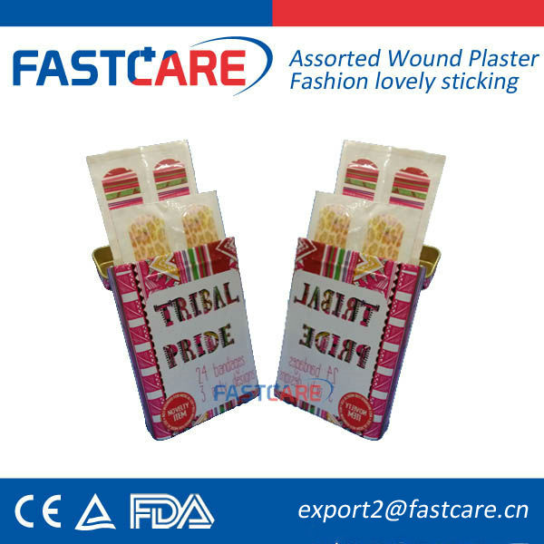 CE Lovely PE Printed Adhesive Bandages in Sterile Suture Pack