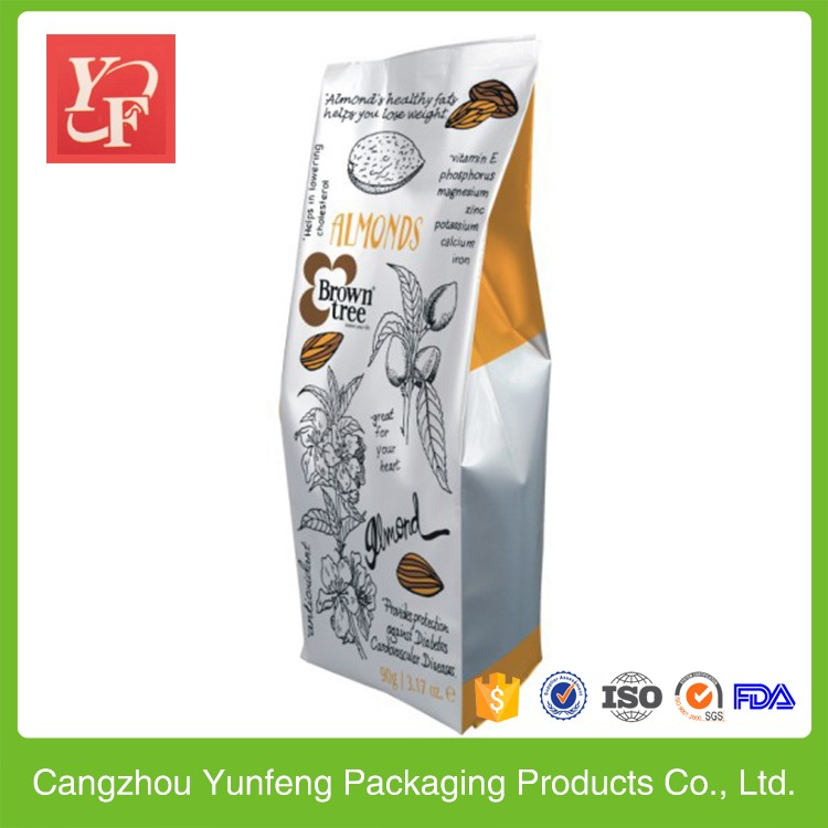 high quality plastic zipper bag for tea