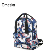 Ultra Lightweight Printing Patten Travel Convertible <strong>School</strong> Tote Waterproof Backpack for Girl