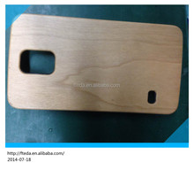 Plastic wood case for samsung galaxy S5