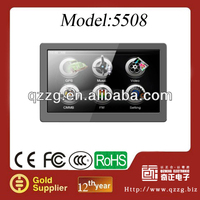 5 inch Gps navigation DDR128MB 4GB CPU 800MHZ 800*480 car gps navigator with free map