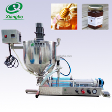 XBGZ-1000W Semi-automatic high viscosity liquid/honey filling machine with heater and mixer