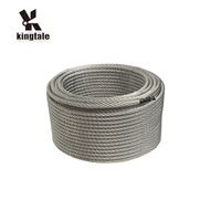 Kingtale Metal manufacturer 7x19 steel wire rope galvanized steel cable 1.5mm