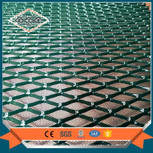 Green coated galvanized iron expanded metal mesh home depot